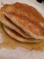 Lockere Pancakes ohne Mehl