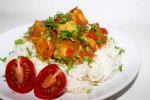 Vietnamesisches Tofu in Tomatensauce – Dau Phu sot ca chua