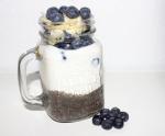 Heidelbeere Chia Joghurt
