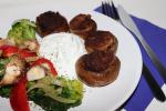Gefüllte Champignons mit Brokkoli Röschen
