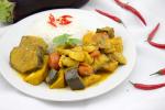 Vietnamesischer Curry mit Kochbananen